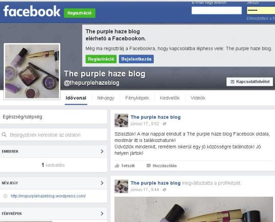 The purple haze Fb