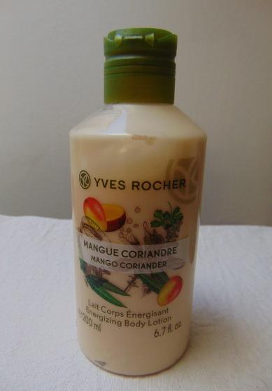 Yves Rocher mangó-koriander testápoló
