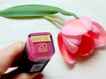 Max Factor matte lipstick