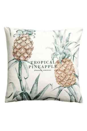 fehér ananász párnahuzat