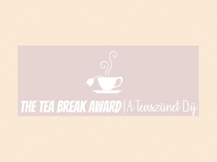 teaszünet díj