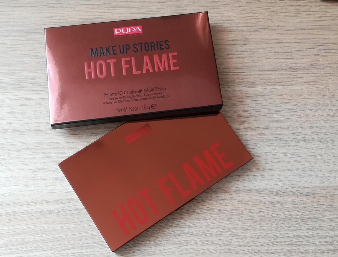 Pupa hot flame